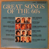 Great Songs Of The 60's Volume 2 (vinyl LP) PRICE REDUCED!!