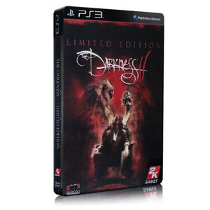 THE DARKNESS 2 II LIMITED STEELBOOK EDITION PS3 GAME BRAND NEW