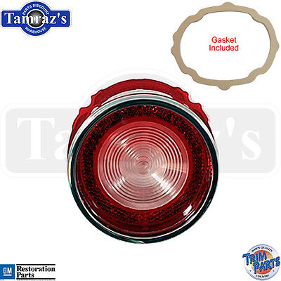 65 Bel Air Rear Reverse Back Up Tail Light Lamp Lens With Gasket - Made In Usa