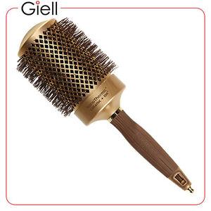 Olivia Garden Nanothermic Ionic Round Brush 2 1 2 Nt 64 Ebay