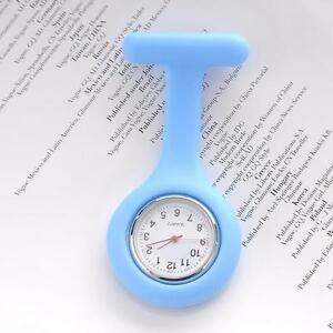 New Cute Silicone Nurse Watch Brooch Fob Tunic Quartz Movement Watch