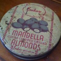 Esskay Mandella Cocoa covered Almonds Antique