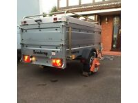 Brenderup Thule 750Kg Two wheel un-braked camping utility trailer