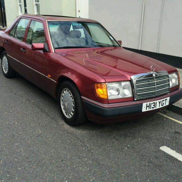 Mercedes w124 2 3 petrol only 70k full service history for Mercedes benz cherry hill parts
