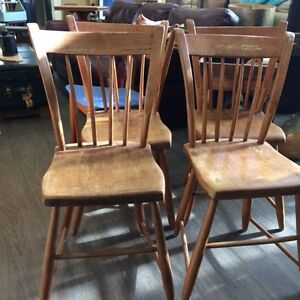 QUEBEC CHAIRS - SET OF 4!!!!
