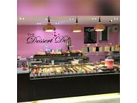Sales Assistant (Dessert Deli): Newly opened shop at Clapham Junction Station