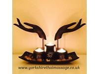 Yorkshire Thai Massage the only way to find out how amazingly good our massage is come and try it
