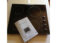 Electrolux Electric Ceramic Glass Hob EHO 603 - used