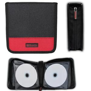 48 CD DVD STORAGE HOLDER CARRY CASE WALLET BAG - NYLON HIGH QUALITY