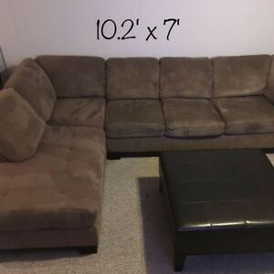 Brick Oakdale Sectional NEED GONE BY 01 Oct 2018