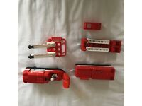 TOMY TOMICA 85100 Fire rescue train set with accessories great fun