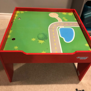 DISCOVERY KIDS TRAIN TABLE