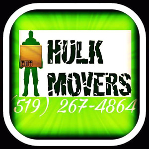 Hulk the mover. Moving? Huge discounts
