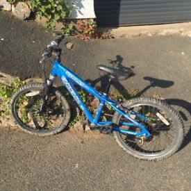 Shogun Razor hardtail children's bike