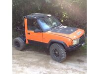 Landrover discovery off road