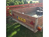 8ft x 5ft Box Trailer with full electrics