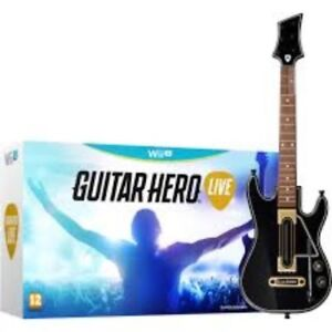 Brand New!! Guitar Hero Live for Wii U