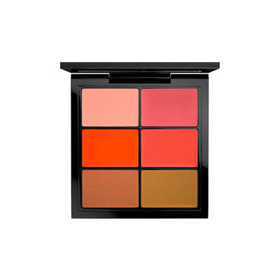 MAC Cosmetics Pro Lip Palette 6 Editorial Oranges, used for sale  Shipping to India