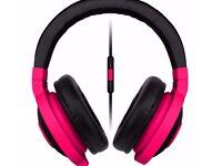Brand New Razer Kraken Mobile Headset - Neon Red