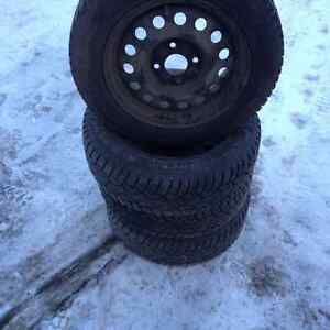 General Tire Altimax Arctic Studded Tires & Rims
