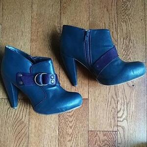 Grey Fall Boots, Size 36-37 Kitchener / Waterloo Kitchener Area image 1
