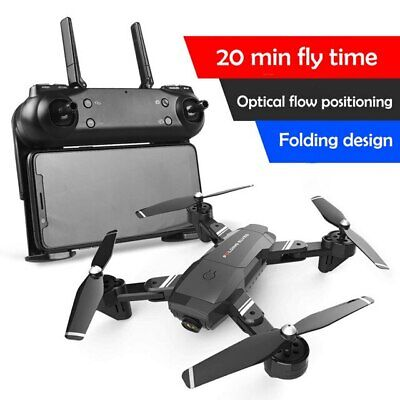 HD RC Quadcopter micro remote control helicopter fpv drone 20 mins fly Best