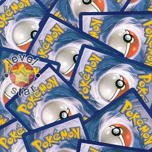 50 Pokemon Cards Rare Shiny Shineys with EX or Level X