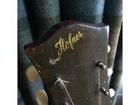 Lovely Vintage Hofner acoustic guitar ( 1968)