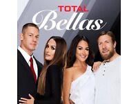 WWE TOTAL BELLAS COMPLETE SEASONS 1 & 2 (2016-2017)
