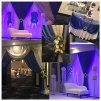 Amazing wedding decorations for reasonable package price $850.00
