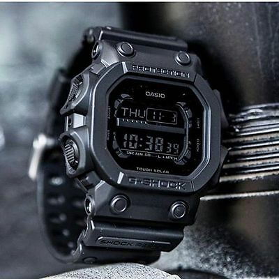 Casio G SHOCK GX56BB-1 Black-Out Solar Function Tactical Limited Mens Watch