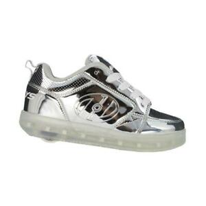 Heelys silver light up sneakers