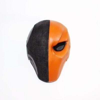 Deathstroke Slade Wilson Mask Arrow Batman Arkham Origins Halloween Cosplay UK  (Deathstroke Mask Halloween)