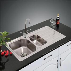 stainless steel kitchen sink drainer plumbing waste kit z 1205