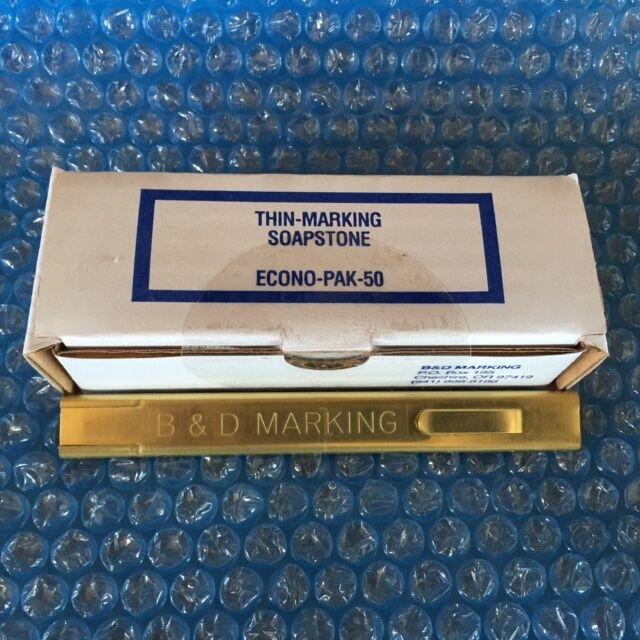 "Thin Marking Soapstone 1/32"" econo pack (50 sticks) & solid brass holder(TB-50)"