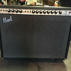 PEARL DUO REVERB GUITAR AMP FROM THE MID 70S (FENDER KNOCK)