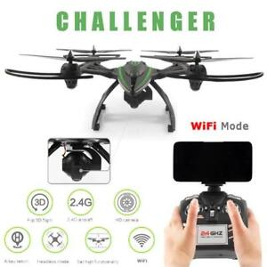 DRONE CHALLENGER FPV VIDEO CAMERA WIFI LUMIERE PHONE 2.4GHZ