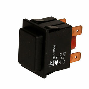 Geräteschalter Drucktaster 2-polig, beleuchtet, Nr. 4072.1010