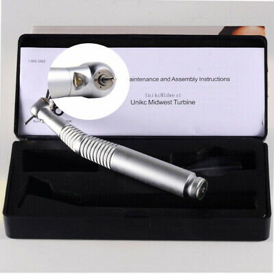 2hole Dental Led E-generator Fast High Speed Handpiece Fit For Kavo Turbine Push