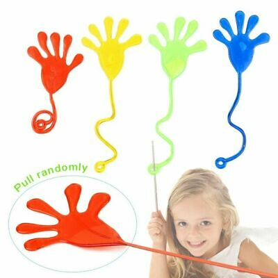 Novelty Sticky Hands 72pc Bright Colors Kids Party Favors Ar