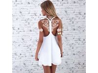 White Henna & Lace Tattoos