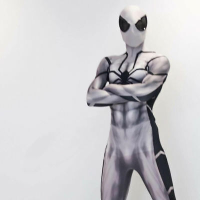 Future Foundation Spider-man Cosplay Costume Spiderman Zentai Suit Halloween New - Future Spiderman Costume