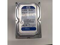 2 X Western Digital 1TB WD10EZEX Blue SATA 3.5'' Hard Drive 64MB Cache