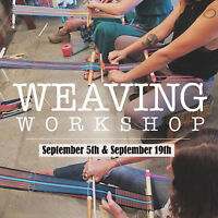 WEAVING WORKSHOP! BOOK NOW!!!