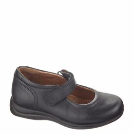 NEW LEATHER - Merceditas Dombi - School Shoes Black UK Size 2.5 - 3 (EU35)