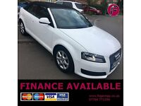 Audi A3 2.0 TDi DIESEL Cabriolet - 1 YEAR WARRANTY - Recent Cambelt Change!! Long NO ADVISORY MOT!!