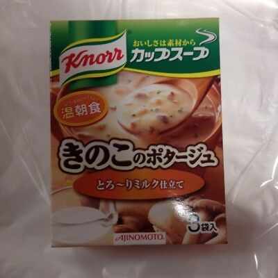 Knorr Ajinomoto Cup Soup Mushroom Potage 3cups from Japan