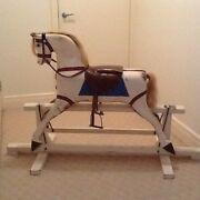 Antique wooden rocking horse Cornubia Logan Area Preview