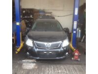 TOYOTA AVENSIS 2.0 D4D 2009-2015 BREAKING FOR SPARES TEL 07814971951 HAVE FEW IN STOCK