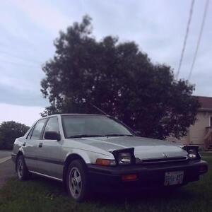 1987 Honda Accord LX Sedan